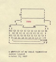 tom peaman stotfold TYPEWRITER ART25