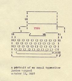 tom peaman stotfold TYPEWRITER ART25